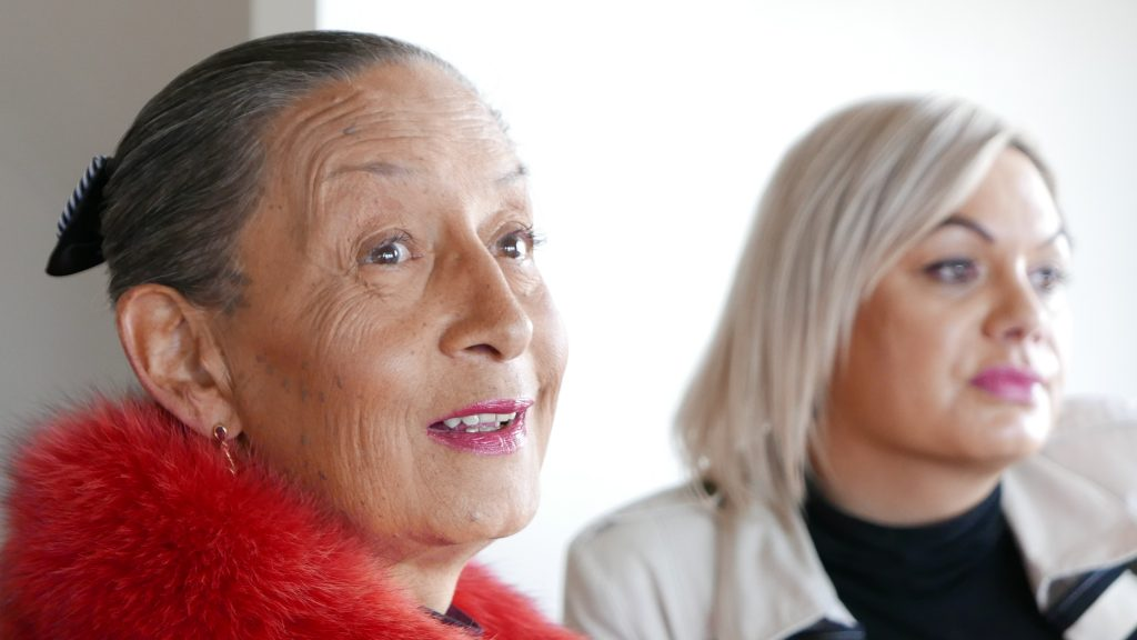 Transgender Maori women Georgina Beyer, actress and the world's first openly trans-sexual mayor and MP, left, and Nikki Lee Carlson, a reality television celebrity and documentary subject who as a male singer, Nik Carlson, was runner-up in the nationally televised talent show NZ Idol 2005.