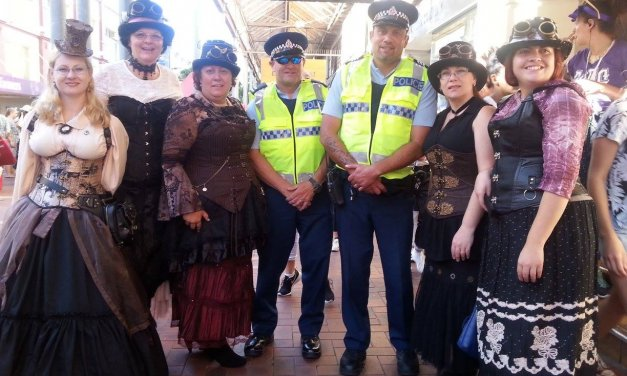 Steampunking Wairarapa a town at a time