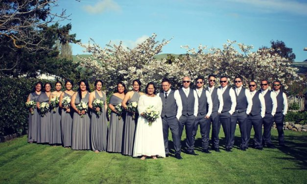 Hometown aroha rings wedding bells for Terri-Lee