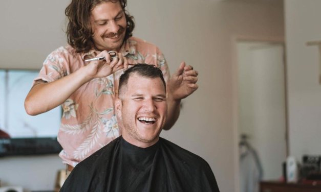 Barter Barber brings mental health message to Masterton blokes